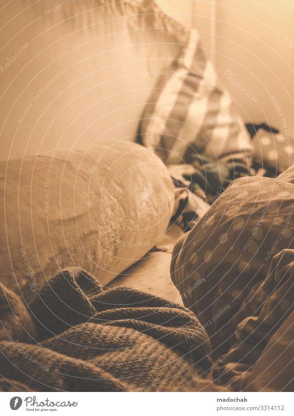 Weiterschlafen Lifestyle Stil Gesundheit harmonisch Wohlgefühl Zufriedenheit Sinnesorgane Erholung ruhig Häusliches Leben Wohnung Innenarchitektur