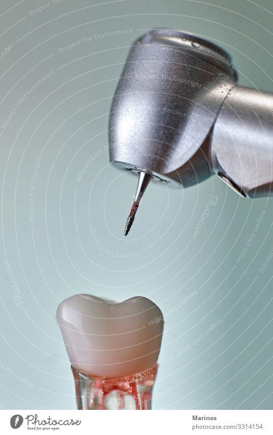 Zahnärztliche Ausrüstung.zahnärztliche Werkzeuge für die Zahngesundheitspflege. Gesundheitswesen Medikament Büro Technik & Technologie Mund Zähne Metall Stahl