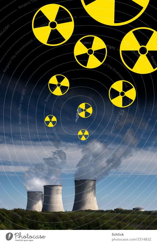 nein danke ! Technik & Technologie Fortschritt Zukunft Energiewirtschaft Kernkraftwerk Energiekrise Industrie Industrieanlage Bauwerk Architektur Atomkraftwerk