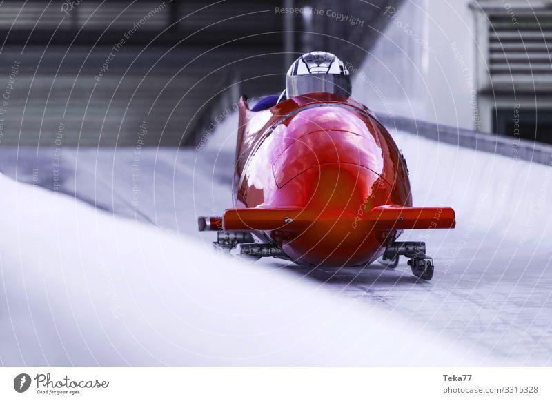 #Eisbob 2 Mensch Winter Sport ästhetisch Abenteuer Wintersport Bob