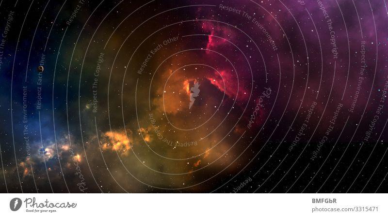 Fantastisches Weltall Natur Wolken Umwelt Bewegung Kunst Freiheit Horizont Wetter Kraft ästhetisch Erfolg Abenteuer Wind Beginn Stern Ewigkeit