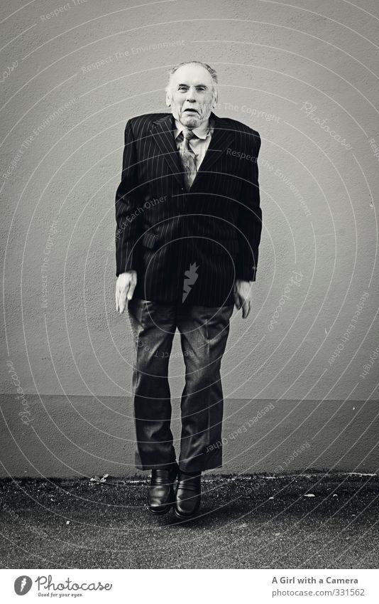 Bester Schwiegerpapa - Happy Birthday Mensch Mann Erwachsene Senior Leben Glück springen außergewöhnlich maskulin 60 und älter Lebensfreude Männlicher Senior