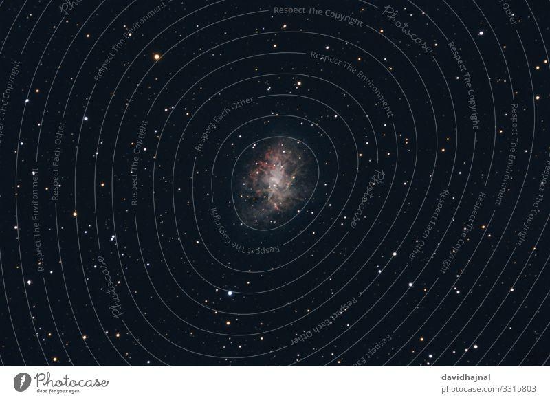Krebsnebel Teleskop Technik & Technologie Wissenschaften Fortschritt Zukunft High-Tech Raumfahrt Astronomie Kunst Natur Himmel nur Himmel Wolkenloser Himmel