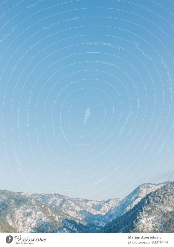 Himmel Ferien & Urlaub & Reisen Natur Landschaft Wald Winter Berge u. Gebirge Leben Umwelt Frühling natürlich Schnee Freiheit Stimmung wild Aussicht