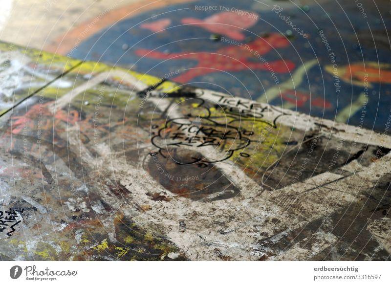 art in progress Kunst Jugendkultur Subkultur Stadt Beton dreckig rebellisch mehrfarbig Freude ästhetisch Freizeit & Hobby Identität Wandel & Veränderung