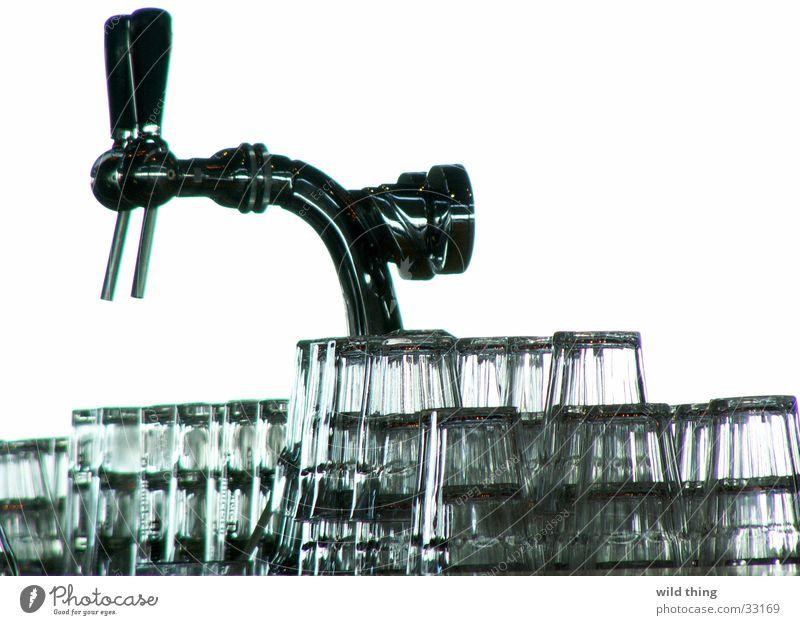 bier Bier Café Pub Alkohol Zapfhahn Wasserglas Bierglas Hebel