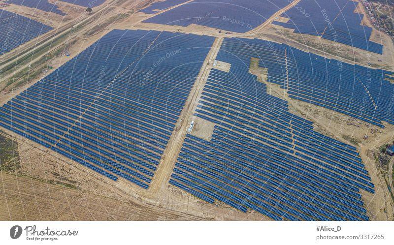photovoltaic park in Guillena Spain Sonnenenergie Solarzelle Technik & Technologie Wissenschaften High-Tech Energiewirtschaft Erneuerbare Energie Industrie