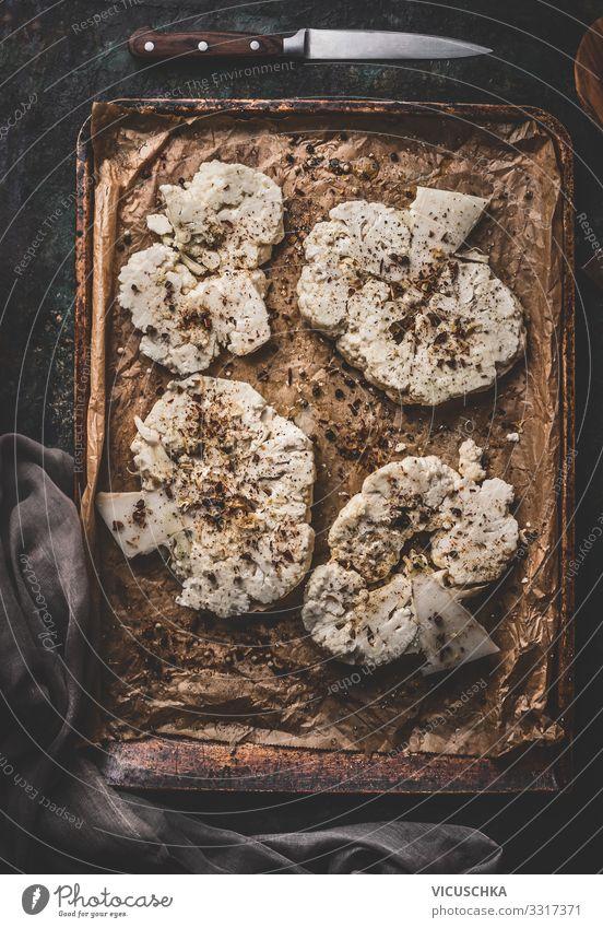 Vegan kochen mit Blumenkohl Lebensmittel Gemüse Kräuter & Gewürze Ernährung Bioprodukte Vegetarische Ernährung Diät Geschirr Stil Gesunde Ernährung Küche Design