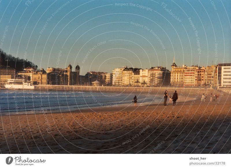 playa de la concha Strand Baskenland San Sebastián