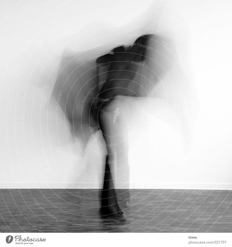 infiziert | stay on the scene Parkett Bodenbelag 1 Mensch Kunst Skulptur Bühne Schauspieler Tanzen Bewegung außergewöhnlich Fröhlichkeit trendy rebellisch