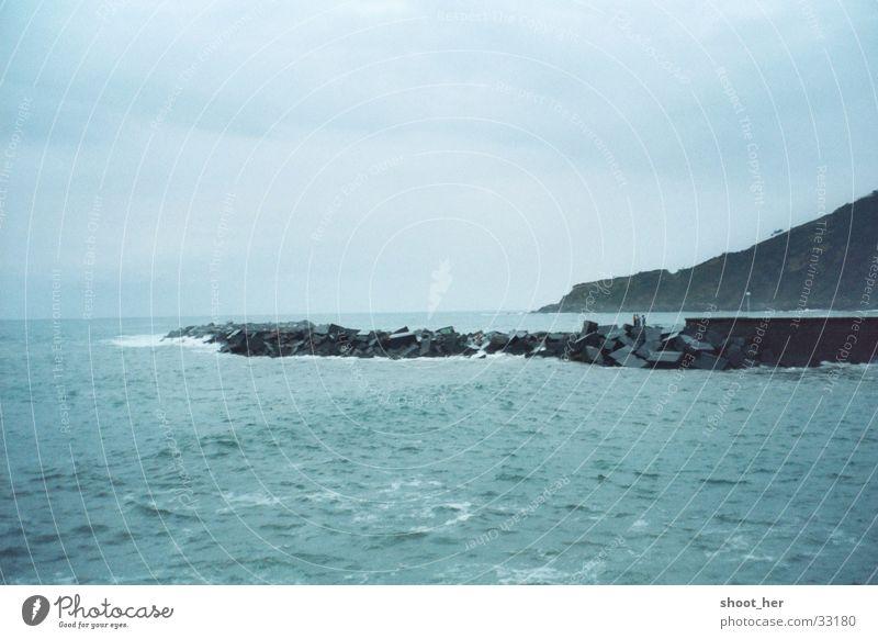 der weg ins meer Wasser Meer Wege & Pfade Baskenland San Sebastián