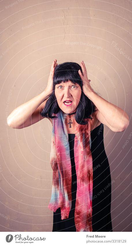 OMG! Stil schön Haare & Frisuren Gesicht Mensch feminin Frau Erwachsene Auge Mund 1 30-45 Jahre 45-60 Jahre Medien Printmedien Fernsehen Mode schwarzhaarig