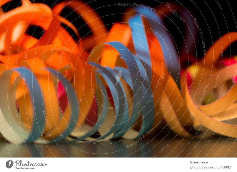Fasching, Party Feste & Feiern Karneval Gesellschaft (Soziologie) Partystimmung Luftschlangen feiern Menschenleer Begeisterung Dekoration & Verzierung