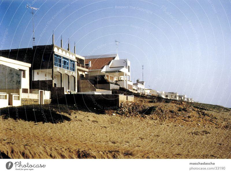 Marokko Atlantikküste Strand Villa Meer Ferien & Urlaub & Reisen Nordafrika Sommer Zufriedenheit Sand Sonne