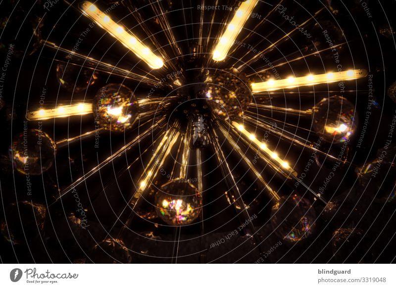 Light Party Lampe Design Metall leuchten Glas Romantik Warmherzigkeit Veranstaltung Nachtleben