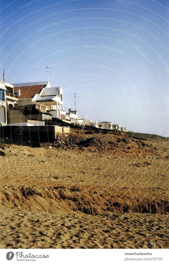Marokko Atlantikküste Sonne Meer Sommer Strand Ferien & Urlaub & Reisen Sand Zufriedenheit Villa Atlantik Nordafrika