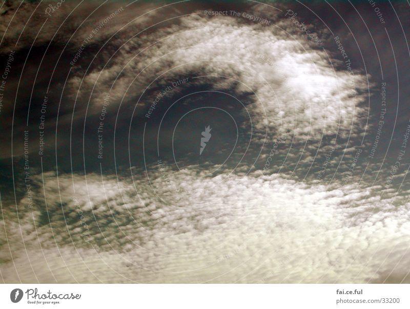 Artistenwolken Himmel weiß Wolken Wind Klarheit Formation kondensieren Geografie Altokumulus floccus