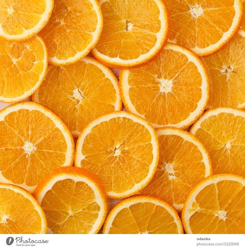 runde Scheiben reifer, saftiger Orangen Frucht Vegetarische Ernährung Saft Design Sommer Dekoration & Verzierung Natur Sammlung frisch hell modern natürlich