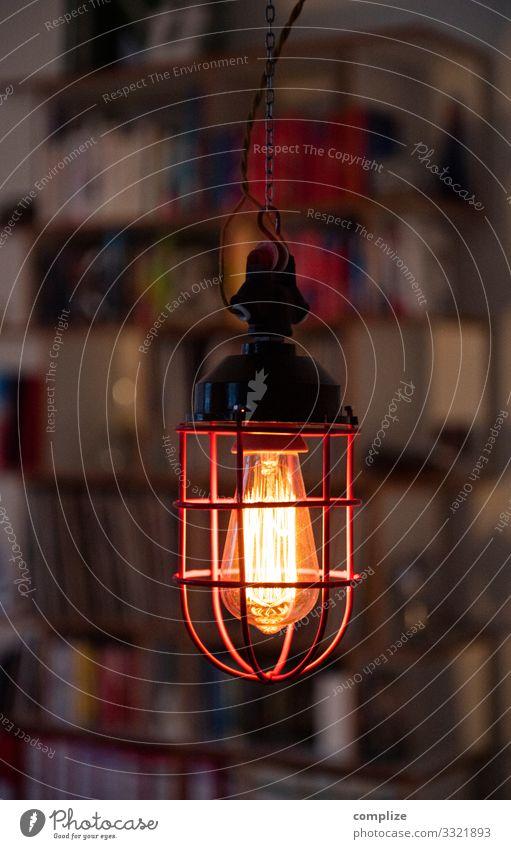 Vintage Gitter-Lampe Wohnung Umzug (Wohnungswechsel) Innenarchitektur Dekoration & Verzierung Möbel Raum Häusliches Leben retro einzigartig Design bunkerlampe