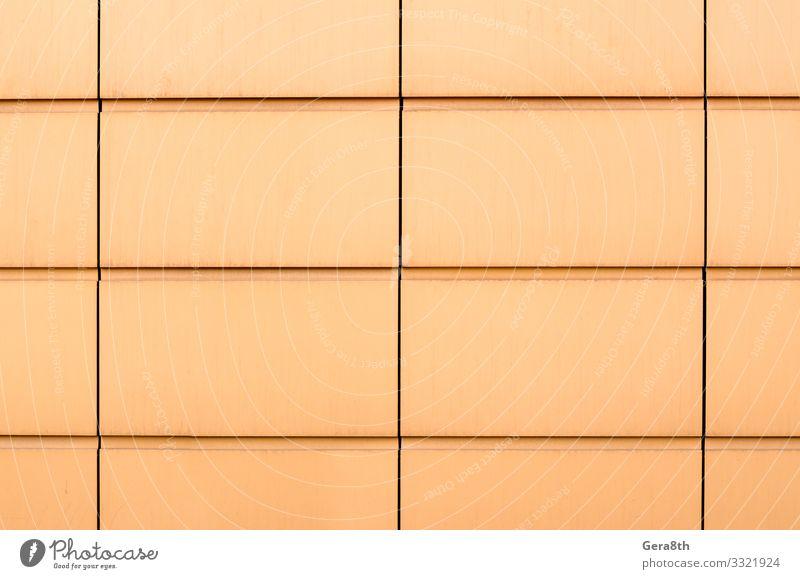 abstraktes Muster Hintergrund gelbe Form mit Linien Stil Design Haus Büro Business Gebäude Architektur Fassade einfach modern blau Farbe Klotz Großstadt Element