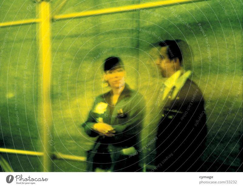 nyse . big business Frau Mensch Mann grün Erholung Arbeit & Erwerbstätigkeit sprechen Mauer Paar Business 2 mehrere Pause USA Bank Ladengeschäft