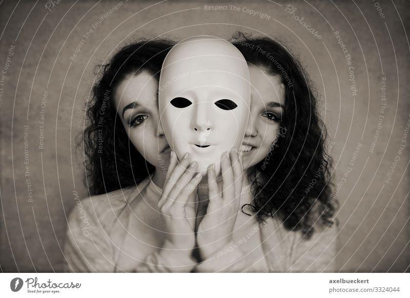 bipolare Störung Lifestyle Gesundheit Gesundheitswesen Mensch feminin Junge Frau Jugendliche Erwachsene 1 13-18 Jahre 18-30 Jahre Lächeln lachen Traurigkeit
