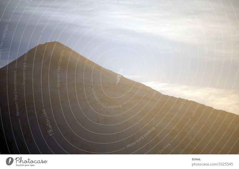 Rückzugsort Umwelt Natur Landschaft Himmel Wolken Schönes Wetter Berge u. Gebirge Teneriffa Sehenswürdigkeit Wahrzeichen einfach Zufriedenheit Kraft schön