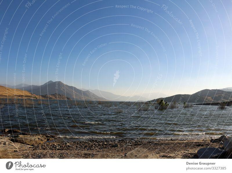 View over the Kern River in Wofford Heights, California USA Ferien & Urlaub & Reisen Sommer Umwelt Natur Landschaft Erde Wasser Klima Klimawandel Schönes Wetter