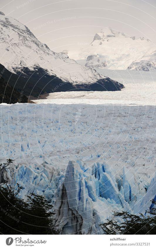 Argentinische | Eiszeit Umwelt Natur Landschaft Sonnenlicht Frost Schnee Felsen Berge u. Gebirge Gipfel Schneebedeckte Gipfel Gletscher kalt Eisberg