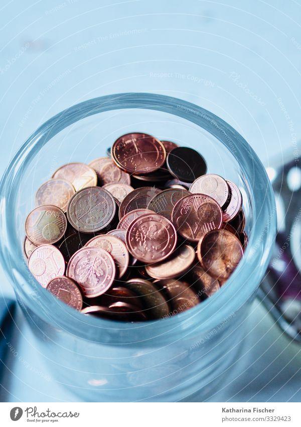 Bares Metall Originalität reich rund braun gold weiß Bankkapital kupfer Cent Zahlungsmittel bezahlen Sammlung Geld Geldmünzen Geldgeschenk klein aber fein