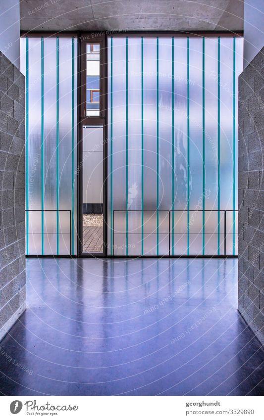 Vertikalindustrie Haus Fenster Architektur Innenarchitektur Wand kalt Gesundheitswesen Mauer Denken Fassade Büro Wohnung modern Glas stehen Industrie