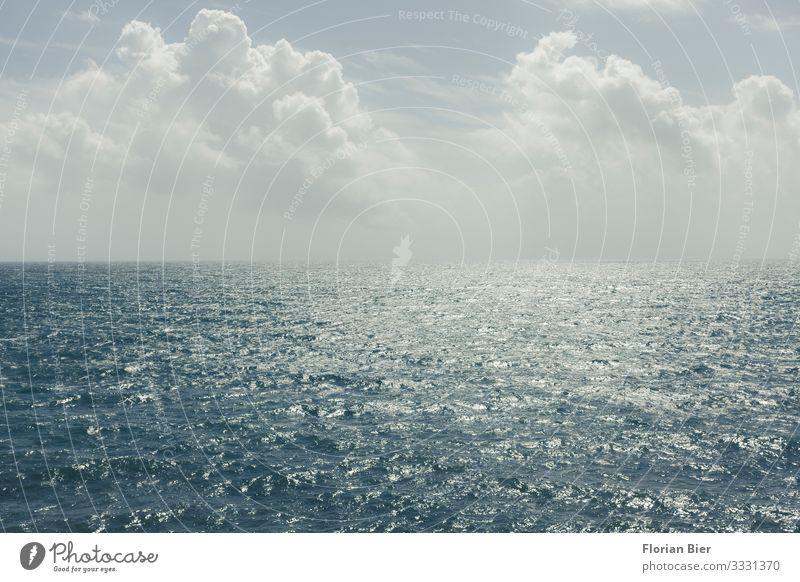 Waterworld Himmel Wasser Meer Erholung Wolken Einsamkeit ruhig Freiheit Schwimmen & Baden Horizont frei träumen Wellen Abenteuer gefährlich nass