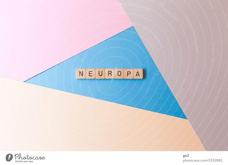 Neuropa Freizeit & Hobby Spielen Papier Schriftzeichen ästhetisch neu friedlich Gastfreundschaft Solidarität Gerechtigkeit Design Gesellschaft (Soziologie)