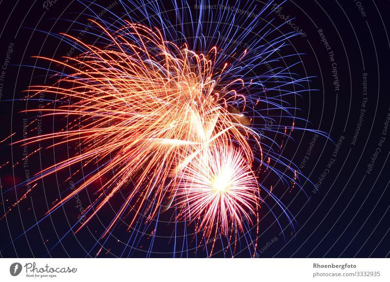 Feuerwerk Nachtleben Entertainment Party Veranstaltung Feste & Feiern Silvester u. Neujahr Jahrmarkt Hochzeit Geburtstag Umwelt Himmel Nachthimmel Horizont