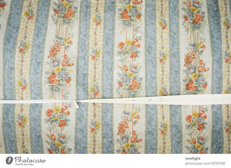 muster Stoff mehrfarbig Muster Grafik u. Illustration Blume altmodisch Abdeckung Farbfoto Textfreiraum oben