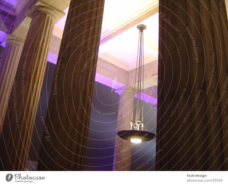 lichtsäulen Lampe Architektur Tor Säule Decke Strebe Brandenburger Tor