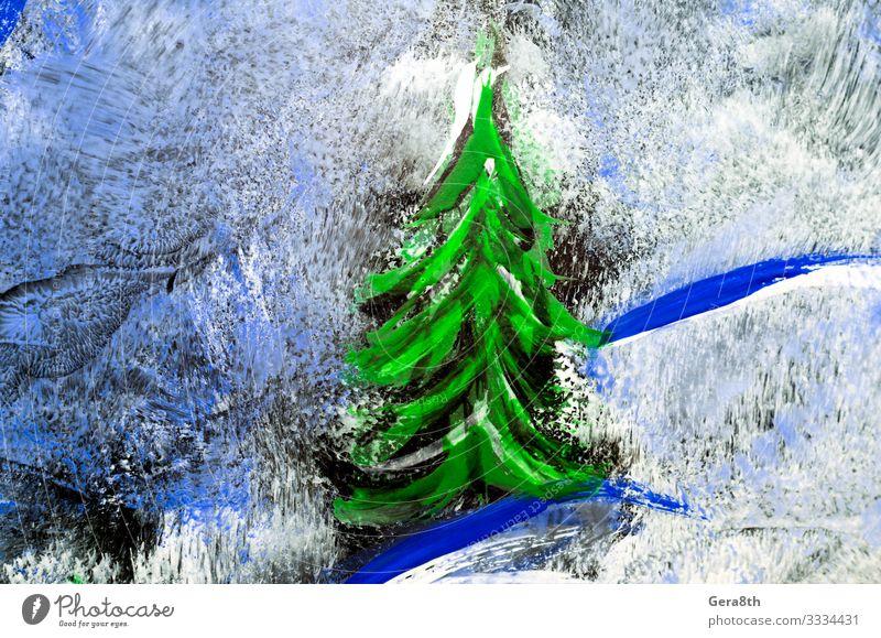 farbige abstrakte Zeichnung auf Glas in Nahaufnahme Kunst Coolness abstrakter Hintergrund Abstrakte Zeichnung Abstraktes Muster Kunst-Hintergrund Kunst-Rohling