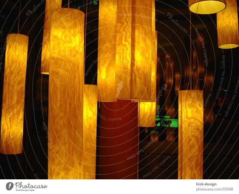 Lichtertanz Lampe Café Nacht Bar Architektur lamps light night lightdance