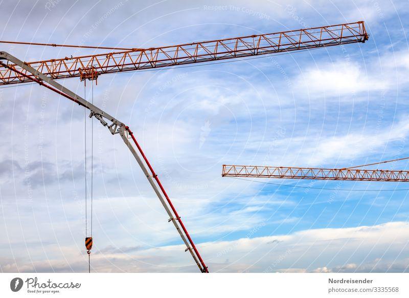 Ausleger Arbeit & Erwerbstätigkeit Beruf Arbeitsplatz Baustelle Wirtschaft Industrie Güterverkehr & Logistik Werkzeug Maschine Baumaschine Technik & Technologie
