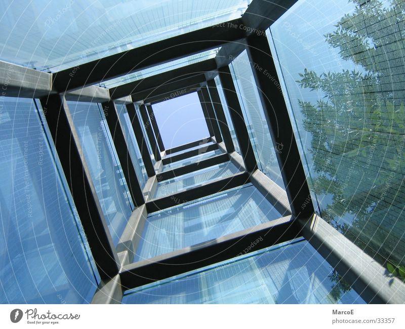 US KriegsGefangenenDenkmal Himmel Sonne Architektur Glas USA Schornstein