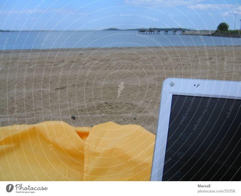 Boston Beach Meer Strand gelb Erholung Computer Verkehr Notebook Informationstechnologie