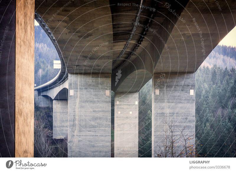Unter der Autobahnbrücke! Maschine Motor Technik & Technologie Energiewirtschaft Industrie Brücke Bauwerk Verkehr Verkehrswege Straßenverkehr Autofahren