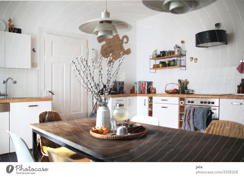 küche Stil Design Häusliches Leben Wohnung einrichten Innenarchitektur Dekoration & Verzierung Möbel Stuhl Tisch Raum Küche Kitsch Krimskrams natürlich