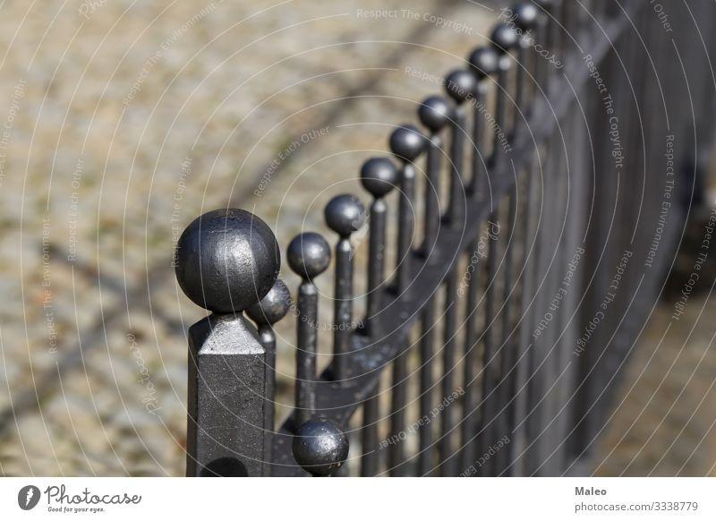 Metallzaun Zaun Stahl Barriere Sicherheit Hintergrundbild Grenze Design Eisen Schutz Teile u. Stücke Ausgrenzung Gehäuse Muster Dekoration & Verzierung