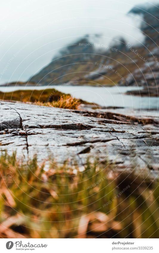 Loch Coruisk auf Isle of Skye Ferien & Urlaub & Reisen Tourismus Ausflug Abenteuer Ferne Freiheit Berge u. Gebirge wandern Umwelt Natur Landschaft Pflanze