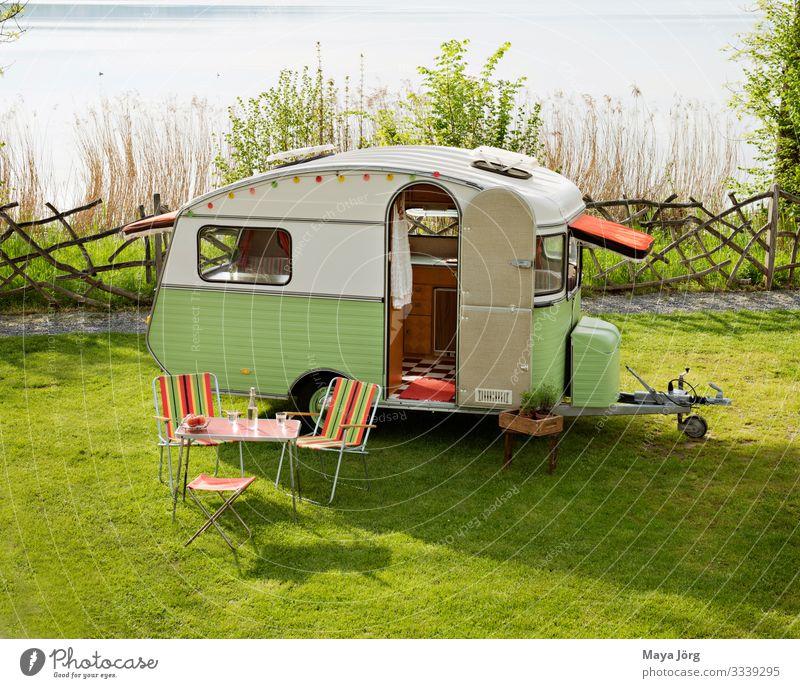Constructam Condor Lifestyle Ferien & Urlaub & Reisen Camping Sommerurlaub Natur Wasser Oldtimer Wohnwagen träumen alt natürlich Originalität retro Freude