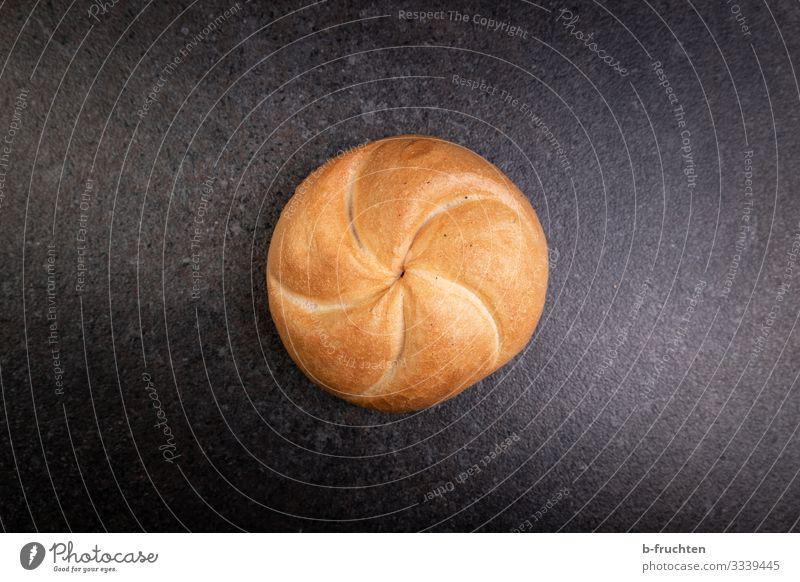 Semmel Lebensmittel Getreide Brot Brötchen Ernährung Bioprodukte Gesunde Ernährung Essen genießen frisch einzeln backen Bäckerei Farbfoto Innenaufnahme