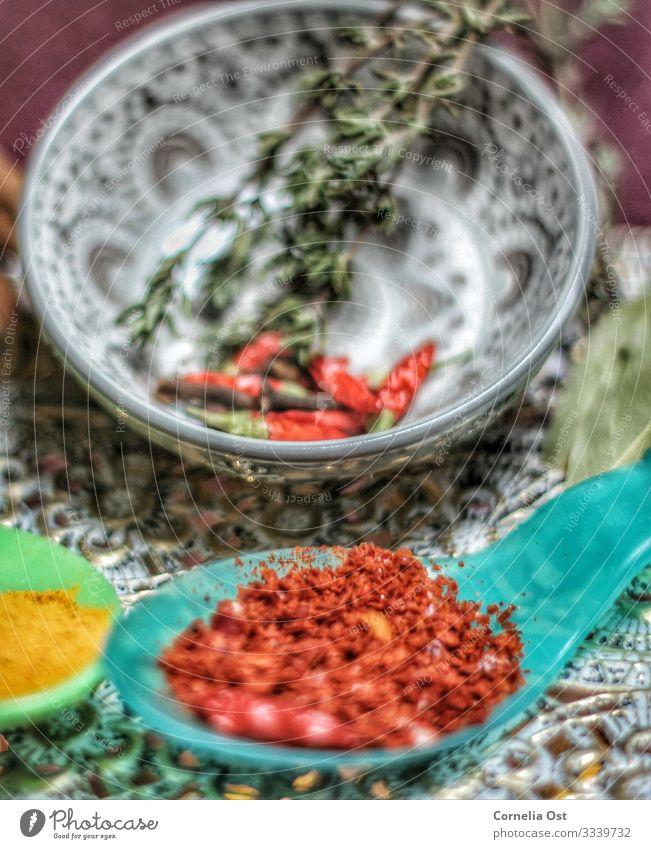 Hot and spicy Ernährung Bioprodukte Schalen & Schüsseln Löffel exotisch Gesunde Ernährung Gastronomie Kochlöffel genießen Kräuter & Gewürze Chili Chiliernte