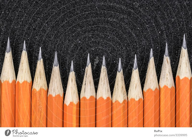 Graphitstift-Hintergrund. Lifestyle Stil Design Wellness Sinnesorgane Freizeit & Hobby Handarbeit Bildung Erwachsenenbildung Kindergarten Schule lernen