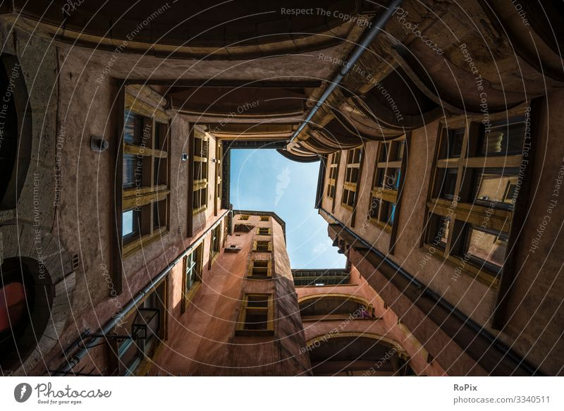Historische Stadtarchitektur. Lifestyle Stil Design Ferien & Urlaub & Reisen Tourismus Sightseeing Städtereise Häusliches Leben Kunst Architektur Umwelt Himmel